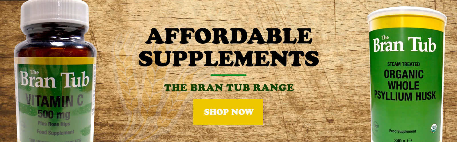 Supplements Amp Health Foods The Bran Tub Petersfield